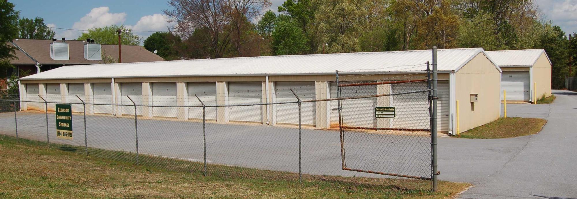 Clemson Community Storage